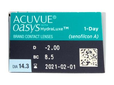 Acuvue Oasys 1-Day (30lentillas) - Previsualización de atributos
