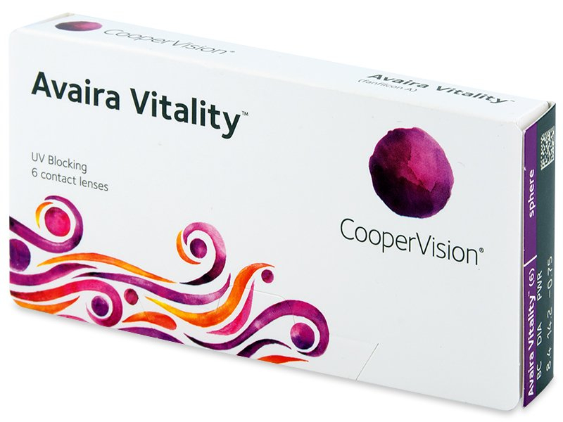 Avaira Vitality (6 lentillas) - Contact lenses - CooperVision