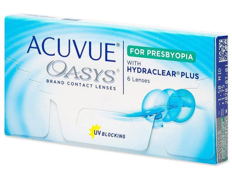 Lentillas multifocales - Acuvue Oasys for Presbyopia (6 lentillas)