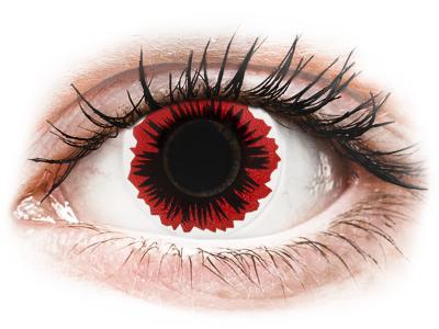 ColourVUE Crazy Lens - Blaze - Sin graduación (2 lentillas)