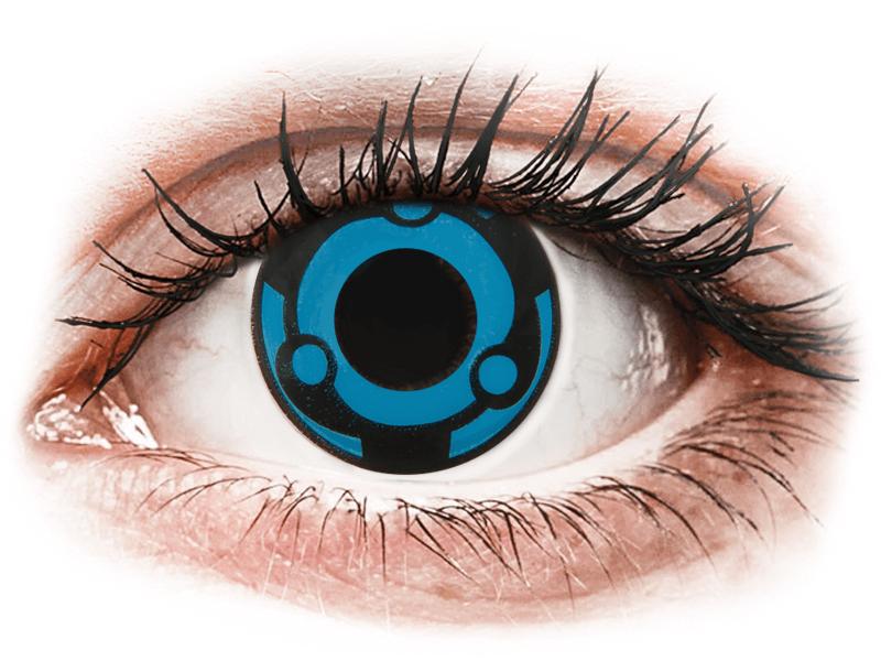 CRAZY LENS -  Vision - Diarias sin graduación (2 Lentillas) - Lentillas de colores