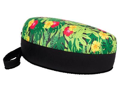Estuche de diseño floral para gafas