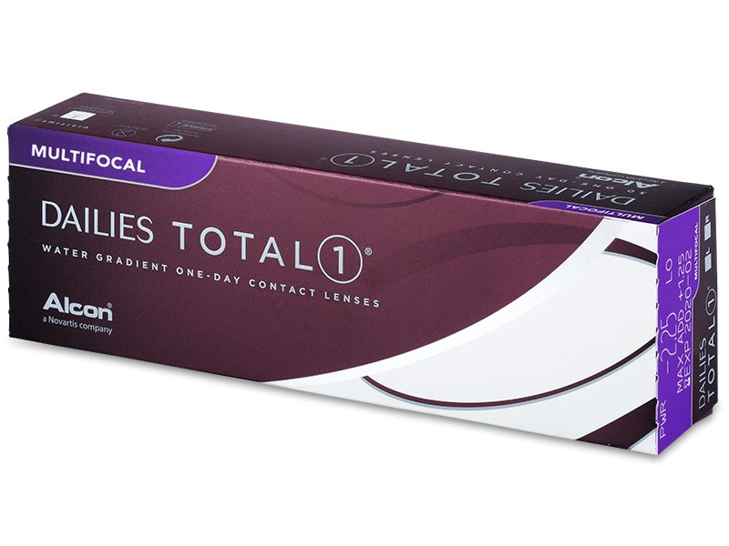Dailies TOTAL1 Multifocal (30 lentillas) - Lentillas diarias desechables - Alcon