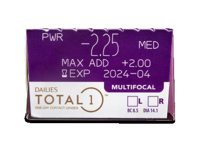 Dailies TOTAL1 Multifocal (30 lentillas) - Previsualización de atributos