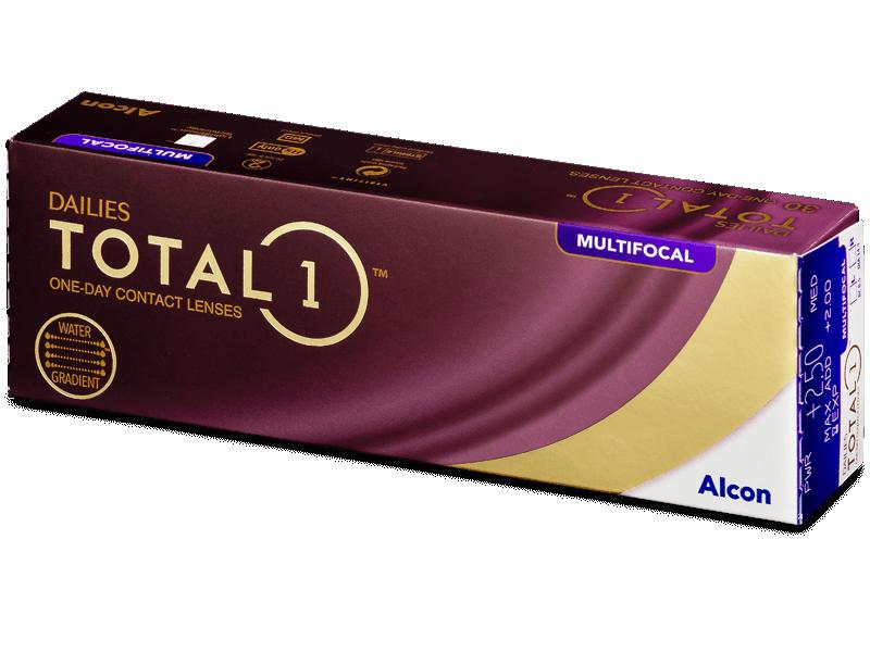 Dailies TOTAL1 Multifocal (30 lentillas) - Lentillas multifocales