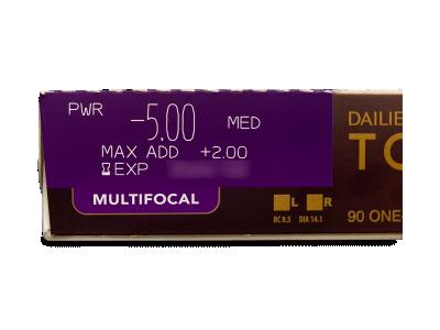 Dailies TOTAL1 Multifocal (90 lentillas) - Previsualización de atributos