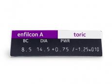 Avaira Toric (3 Lentillas) - Previsualización de atributos