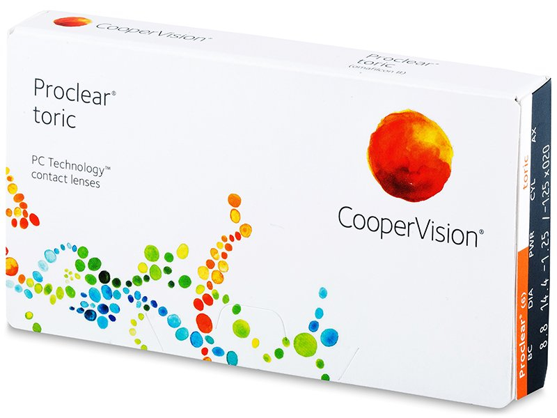 Proclear Toric (3 lentillas) - Lentillas tóricas