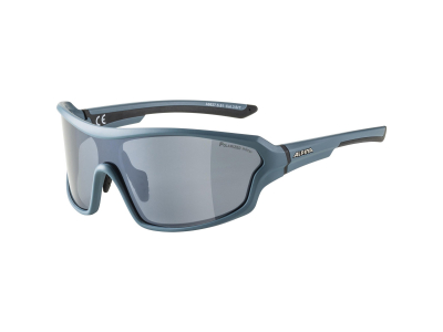 Gafas de sol Alpina Lyron Shield P Dirtblue Matt/Black Mirror