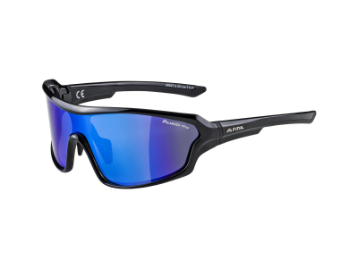 Gafas de sol Alpina Lyron Shield P Black/Blue Mirror