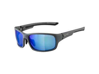 Gafas de sol Alpina Lyron S Cool Grey Matt Black/Blue Mirror