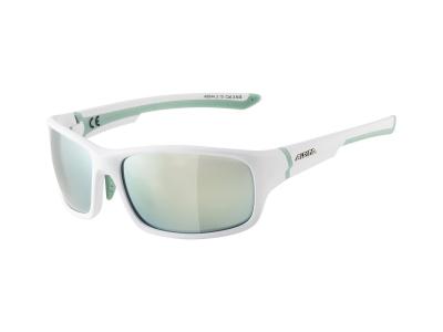 Gafas de sol Alpina Lyron S White Matt Pistachio/Emerald Mirror