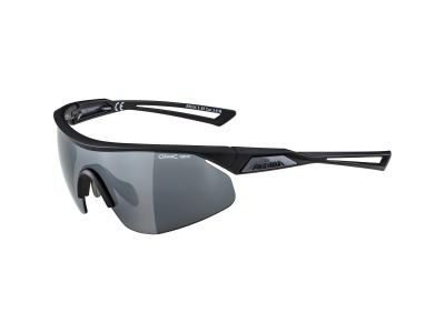 Gafas de sol Alpina Nylos Shield Black Matt/Black Mirror