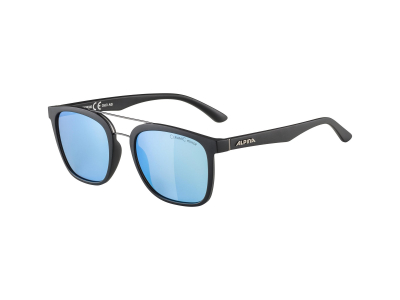 Gafas de sol Alpina Caruma I Black Matt/Blue Mirror