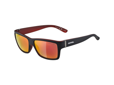 Gafas de sol Alpina Kacey Black Matt Red/Red Mirror