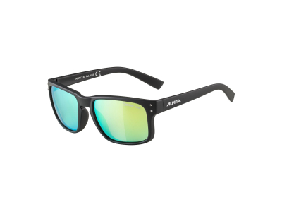 Gafas de sol Alpina Kosmic Black Matt/Neon Yellow Mirror