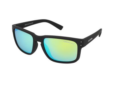 Gafas de sol Alpina Kosmic Black Matt/Neon Yellow Mirror