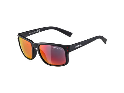 Gafas de sol Alpina Kosmic Black Matt/Red Mirror