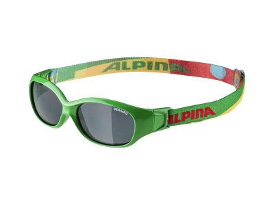 Gafas de sol Alpina Sports Flexxy Kids Green Puzzle