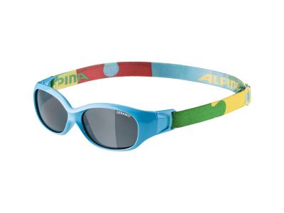 Gafas de sol Alpina Sports Flexxy Kids Cyan Puzzle
