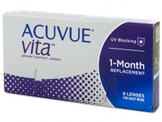 Lentillas Johnson and Johnson - Acuvue Vita (6 lentillas)