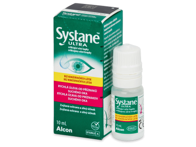 Gotas oculares Systane Ultra sin conservantes 10 ml