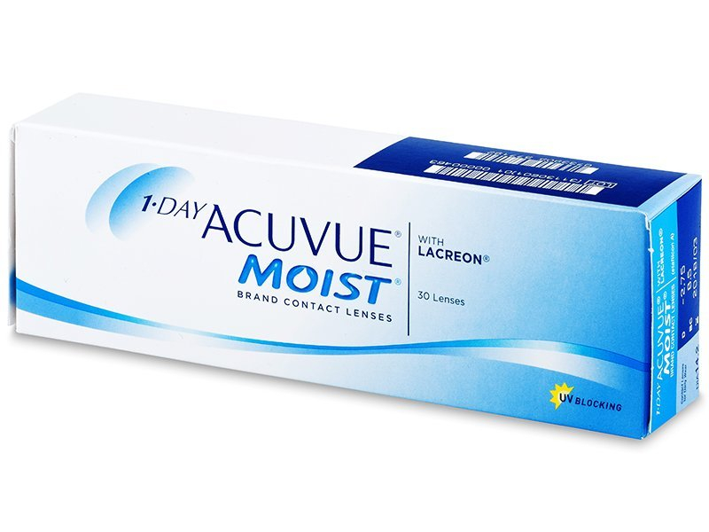 1 Day Acuvue Moist (30 Lentillas) - Lentillas diarias desechables - Johnson and Johnson