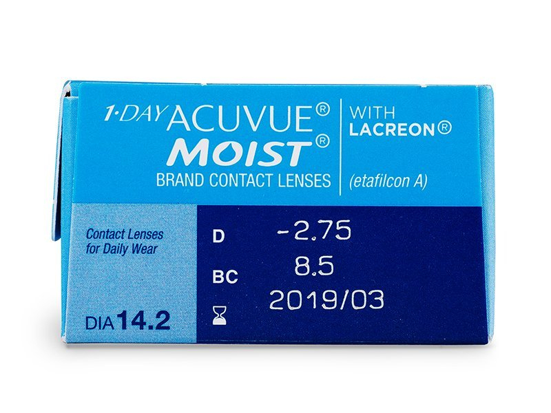 Previsualización de atributos - 1 Day Acuvue Moist (30 Lentillas)