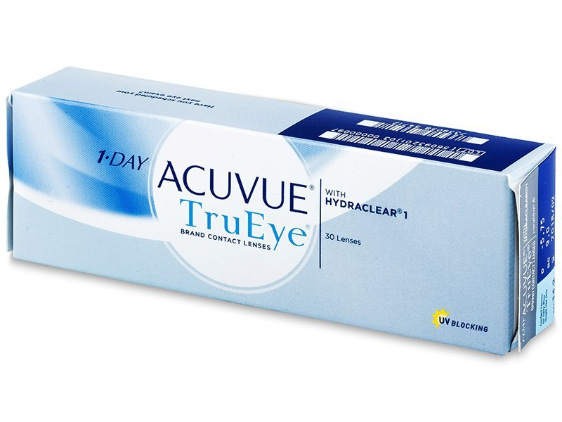 1 Day Acuvue TruEye (30 Lentillas) - Lentillas diarias desechables - Johnson and Johnson