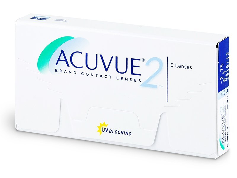 Acuvue 2 (6 Lentillas) - Lentillas quincenales - Johnson and Johnson