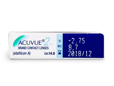 Previsualización de atributos - Acuvue 2 (6Lentillas)