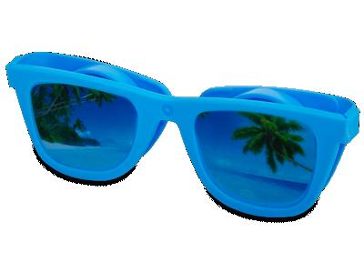Estuche para lentillas OptiShades - Azul