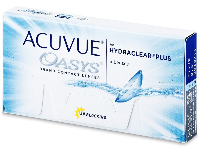 Acuvue Oasys (6 Lentillas) - Lentillas quincenales - Johnson and Johnson