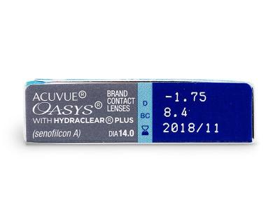Acuvue Oasys (6Lentillas) - Previsualización de atributos