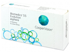 Lentillas mensuales - Biomedics 55 Evolution (6 Lentillas)