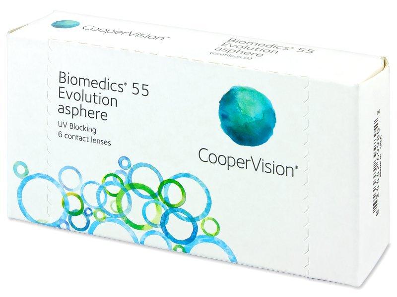 Biomedics 55 Evolution (6Lentillas) - Lentillas mensuales - CooperVision