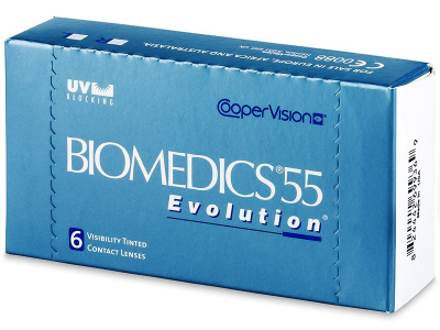 Biomedics 55 Evolution (6 Lentillas) - Diseño antiguo