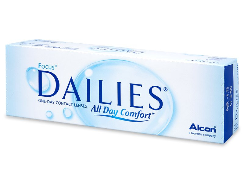 Focus Dailies All Day Comfort (30 Lentillas) - Lentillas diarias desechables - Alcon