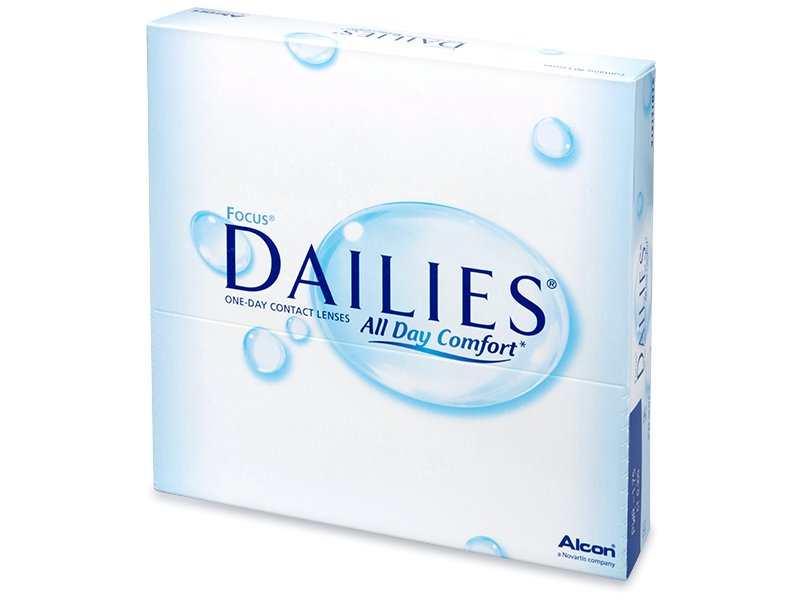 Focus Dailies All Day Comfort (90 Lentillas) - Lentillas diarias desechables - Alcon