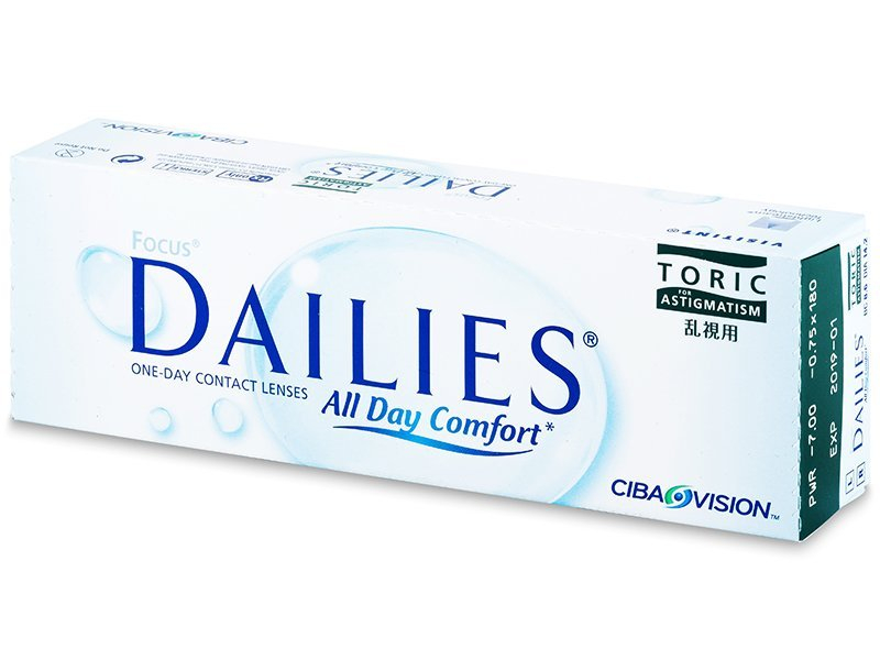 Focus Dailies Toric (30Lentillas) - Lentillas tóricas - Alcon