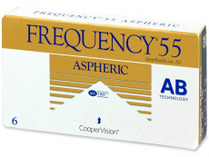 Lentillas mensuales - Frequency 55 Aspheric (6 Lentillas)