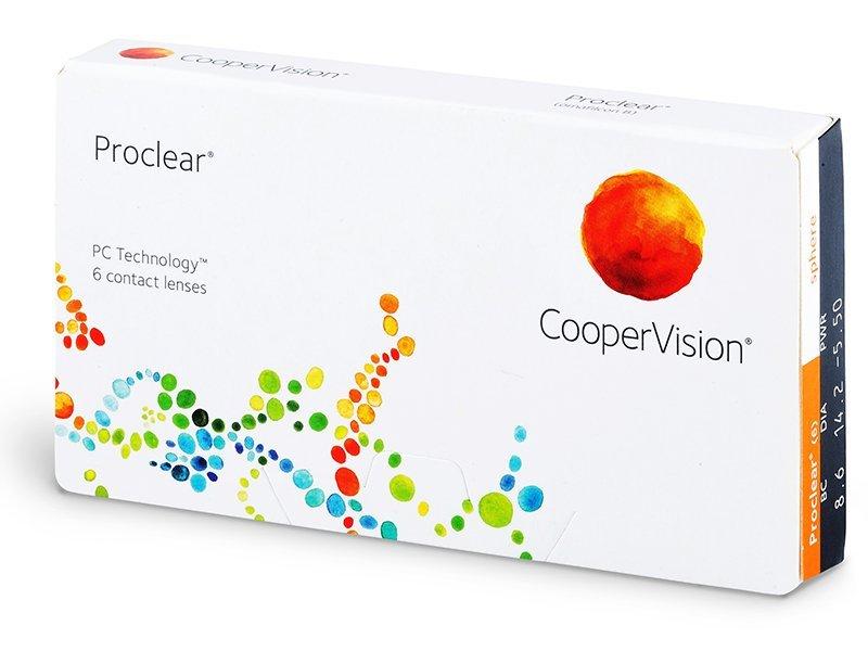 Proclear Sphere (6Lentillas) - Lentillas mensuales