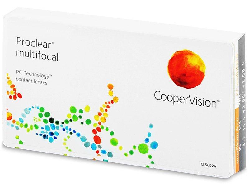 Proclear Multifocal (3Lentillas) - Lentillas multifocales