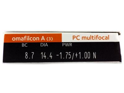 Proclear Multifocal (3Lentillas) - Previsualización de atributos