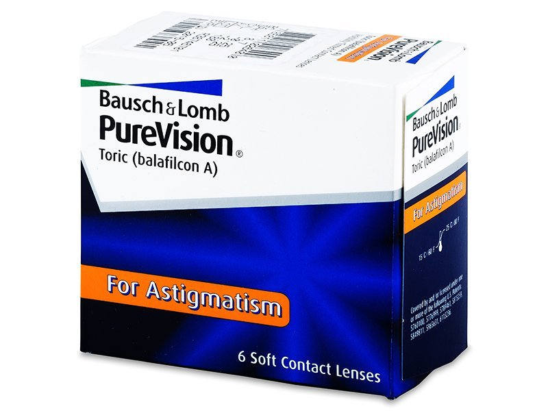 PureVision Toric (6Lentillas) - Lentillas tóricas - Bausch and Lomb