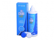 Líquidos para lentillas - Líquido Avizor All Clean Soft 350 ml