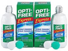 Líquidos para lentillas - Líquido OPTI-FREE Express 2x355ml