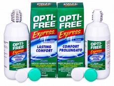 Líquido OPTI-FREE Express 2 x 355 ml  - Economy duo pack- solution