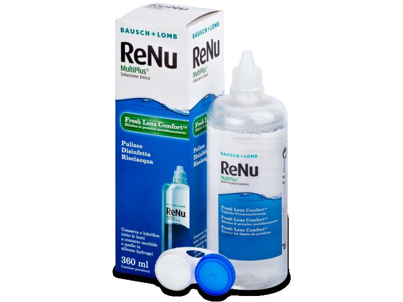 Líquido ReNu MultiPlus 360ml  - líquido de limpieza