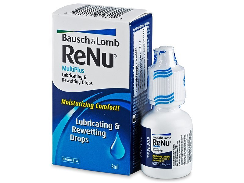 Gotas ReNu MultiPlus Drops 8 ml  - Gotas oculares - Bausch and Lomb
